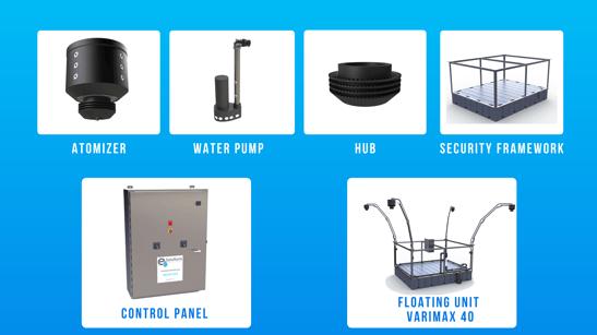 E3 Solutions Evaporator Components
